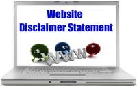 Website Disclaimer Statement