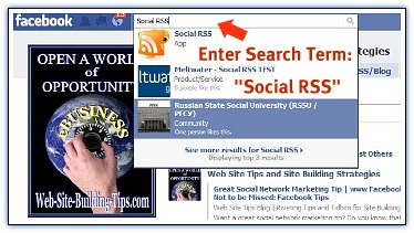 Facebook Web Marketing Tool
