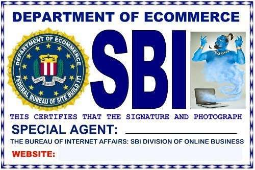 SBI eBusiness Website Genie