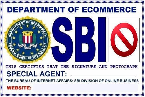 No Symbol for SBI Website Badge