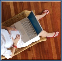 Giving Birth to My New Home Based Business Web Site